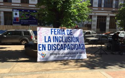 Messe für die Integration der Behinderten