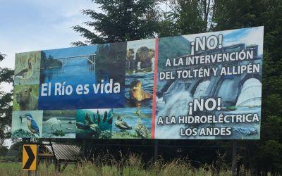 Widerstand gegen WasserKraftwerk