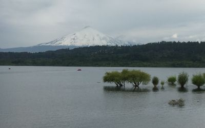 Villarrica mit Vulkan Villarrica