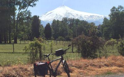 Vulkan von NW