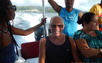 Überfahrt von Martinique nach St. Lucia