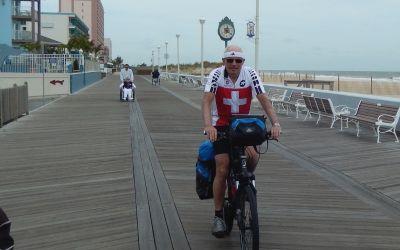Auf der Promenade in OceanCity