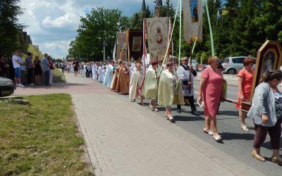 Fronleichnamsprozession in Raigrow, Polen