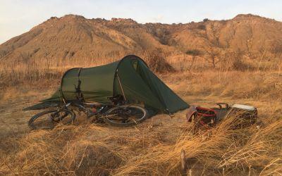 ZeltLager in der Büschel-Wüste