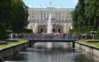 Peterhoff in St.Petersburg