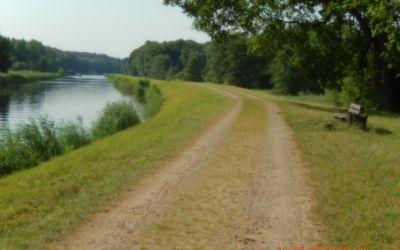 Radweg auf ElbeSeitenkanal