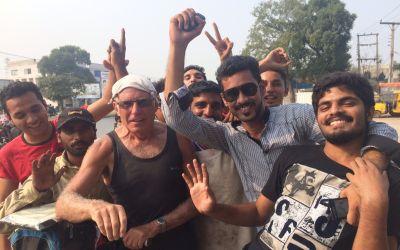 Enthusiastischer Empfang in Pakistan