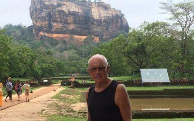 Der Felsen von Sigiria in SriLanka