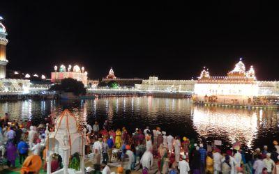 Der GoldenTemple der Sikhs in Amritsar