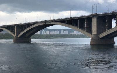Jenissei-Fluss