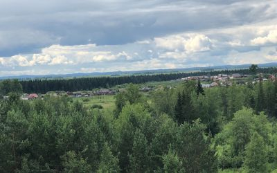 Sibirisches Dorf