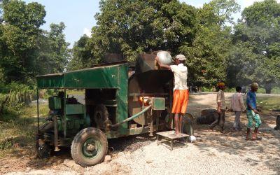 'Umweltfreundliche' Asphaltproduktion
