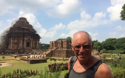Der Tempel von Konark, Orissa, Indien