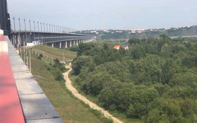 Brücke über den Amur