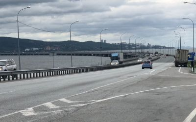 Einfahrt nach Vladivostok
