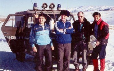 Erinnerung an TreckinRekognoszierung in Kasachstan von 30 Jahren