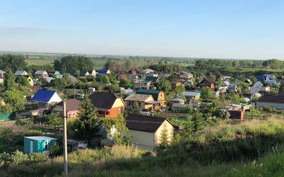 Kasachisches Dorf