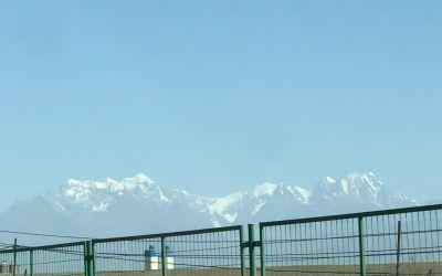 TienShanGebirge, bis über 7500 m hoch
