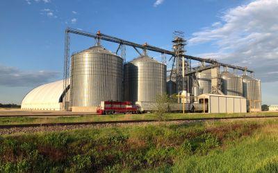 Gigantische GetreideSilos