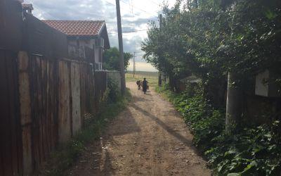 Seh ärmliche Gehöfte in Bulgarien