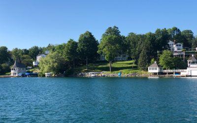 Die besseren Wohnlagen am See
