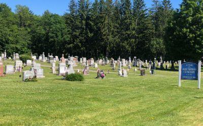 Friedhof-amerikanische Grosszügigkeit