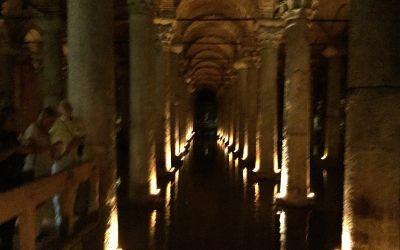 Die Römischen Zisternen in Istanbul