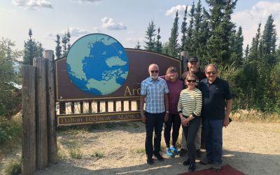 Meine Freunde am ArcticCircle