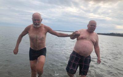 'Bath in the Arctic Ocean'