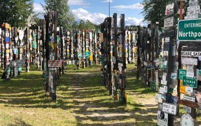 Park mit 50'000 Schildern