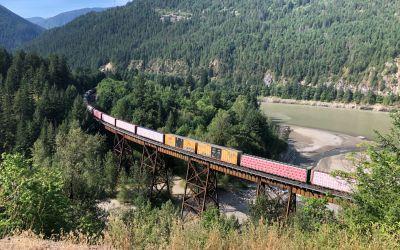 Der Fluss mit den vielen Zügen