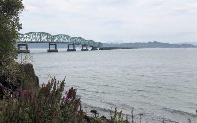 6.5 km Brücke über ColumbiaRiver