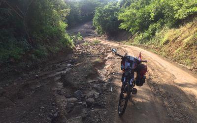 35 km KatastrophenWeg in Nigaragua