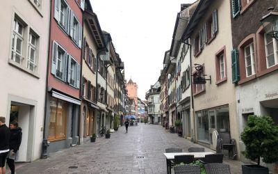 Leeres Rheinfelden