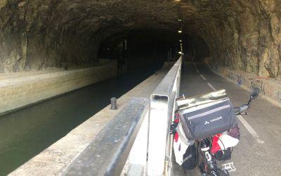 500m Tunnel für Kanal und Veloweg