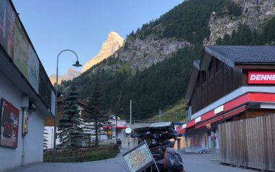 Abschied von Zermatt