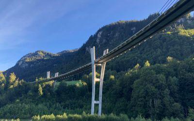 Sunnibergbrücke von unten