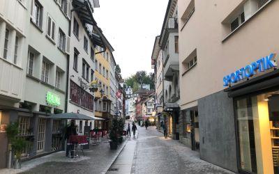 St. Gallen, meine Unterkunft