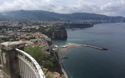 Die Steilküste von Sorento