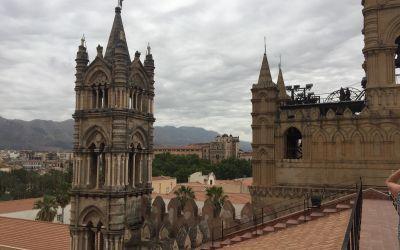 Palermo ab dem Dach der Kathedrale