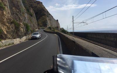 Küstenstrasse bei Taormina