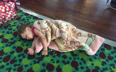 Nicht alle hatten eine Schlafkabine