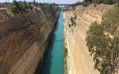 Der Kanal vob Korinth