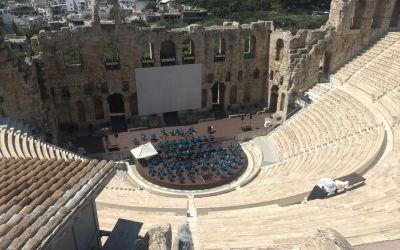 Theater auf Akropolis