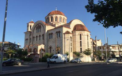 Grösste Koptische Kirche in Larisa