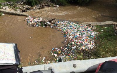 Der Fluss als Müllabfuhr