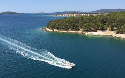 Wunderschöne dalmatische Küste -