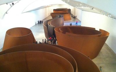 Das GuggenheimMuseum in Bilbao