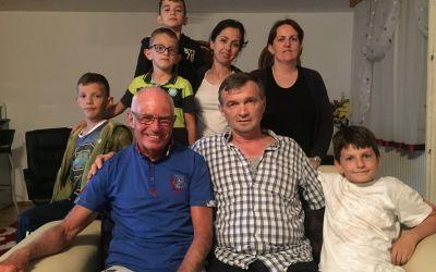 Eingeladen bei bosnischer Familie ind Sarajevo