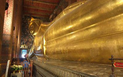 Der liegende Buddha, 50 m lang